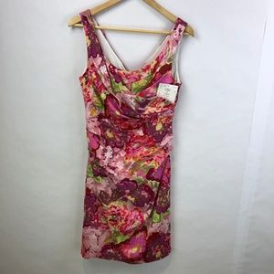 Suzi Chin Maggy Boutique Pink Floral Dress